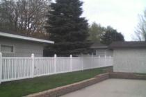 PVC/Vinyl Picket Fence Materials